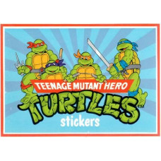 Teenage mutant hero Turtles  Stickers & pysselhäfte (Miniformat)