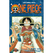 One Piece 02 Ruffy mot clownen Buggy (Begagnad)