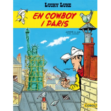 Lucky Luke 92 En cowboy i Paris UTKOMMER UNDER SOMMAREN 2019