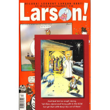 "Larson 2001-13 A (Far Side original julkort ""Little Banjo Boy"" medföljer)"