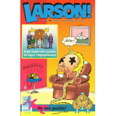 Larson 1992-08 Far Side Tax-konstposter medföljer