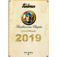 Fantomen Kalender 2019 Scandinavian chapter  - Tema - Sy Barry