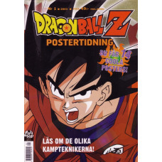 Dragon Ball Z Postertidning