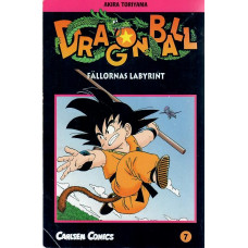 Dragon Ball 07 Fällornas labyrint (Begagnad)