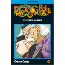 Dragon Ball 29 Vegetas framgång