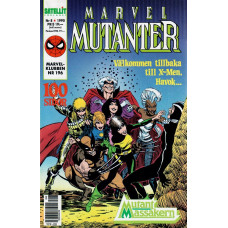 Marvel Mutanter 1990-08