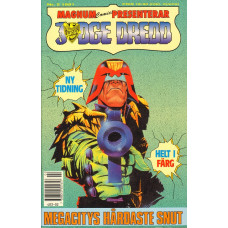 Judge Dredd 1991-02 (Magnum comics presenterar)