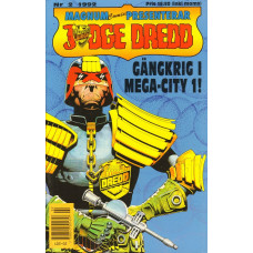 Judge Dredd 1992-02 (Magnum comics presenterar)