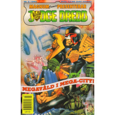 Judge Dredd 1992-03 (Magnum comics presenterar)