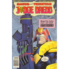 Judge Dredd 1991-05 (Magnum comics presenterar)