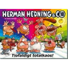 Herman Hedning & Co Nr 10 Tiofaldigt totalkaos