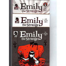 Emily The Strange Set (Tidning 1-3)