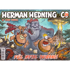 Herman Hedning & Co Nr 24 Full metal julbang (Julalbum 2015)