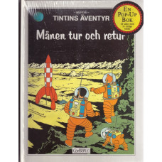 Tintin - Månen tur och retur (pop-up bok) (Inb)