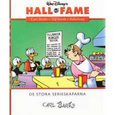Hall of fame 08 Carl Barks - Till bords i Ankeborg (inb)