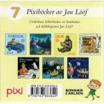 Jan Lööf Pixibox med 7 pixiböcker
