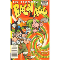 Bacon & Ägg 1995-01 (1:a  Nr)
