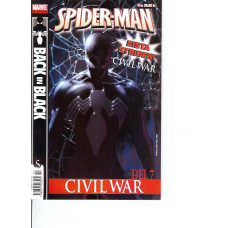 Spider-Man 2007-10 (Civil War #7 av 7+Back in Black #1 av 5)