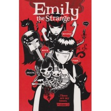 Emily The Strange Vol 02 Rock, Death, Fake, Revenge & Alone (TP)