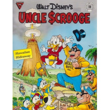 Gladstone Comic Series 11 Uncle Scrooge: Hawaiian Hideaway (begagnad)