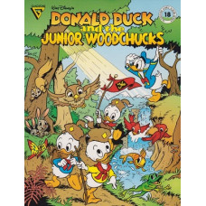 Gladstone Comic Series 18 Donald Duck And The Junior Woodchucks  (begagnad)