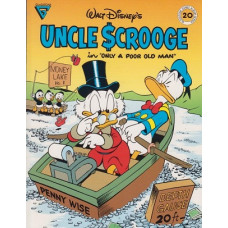Gladstone Comic Series 20 Uncle Scrooge In Only A Poor Old Man (begagnad)