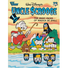 Gladstone Giant Special 06 Uncle Scrooge Many Faces Of Magica De Spell (begagnad)
