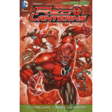 Red Lanterns Vol 01 Blood And Rage (New 52!) (TP)