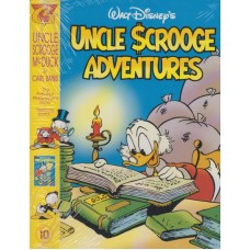 Uncle Scrooge Adventures Vol 10 The Fabulous Philosopher's Stone (inkl. samlarkort)