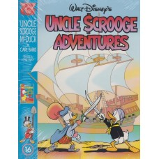 Uncle Scrooge Adventures Vol 16 Back to Long Ago (inkl. samlarkort)