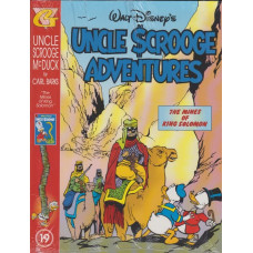 Uncle Scrooge Adventures Vol 19 The Mines Of King Solomon (inkl. samlarkort)