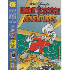 Uncle Scrooge Adventures Vol 22 The Golden River (inkl. samlarkort)