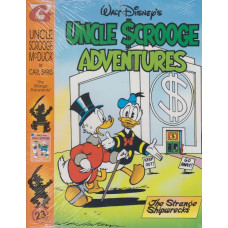 Uncle Scrooge Adventures Vol 23 The Strange Shipwrecks (inkl. samlarkort)
