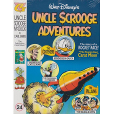 Uncle Scrooge Adventures Vol 24 The Twenty-four Carat Moon (inkl. samlarkort)