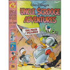 Uncle Scrooge Adventures Vol 26 The Prize of Pizarro (inkl. samlarkort)