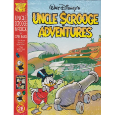 "Uncle Scrooge Adventures Vol 28 The ""Paul Bunyan"" Machine (inkl. samlarkort)"