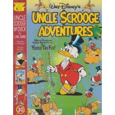 Uncle Scrooge Adventures Vol 30 Pipeline To Danger (inkl. samlarkort)