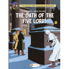 Adventures Of Blake & Mortimer Vol 18 The Oath Of The Five Lords (TP)