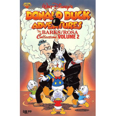 Barks/Rosa Collection Vol 2 Donald Duck Adventures