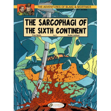 Adventures Of Blake & Mortimer Vol 10 Sarcophagi Of The Sixth Continent Part 2 (TP)