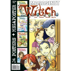 Witch Magasinet - 24 poster+megaposter (Begagnad)