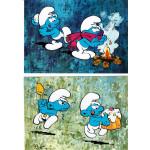 Smurf-kort (10st)
